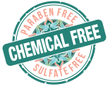 Paraben, Sulfate, Chemical Free